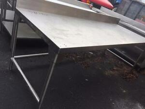 Used Stainless Steel Tables >> Used Table Stainless Steel Kijiji In Mississauga Peel Region