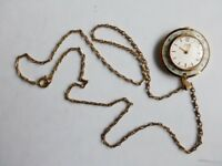 Watch. Oris ladies pendant watch with chain.