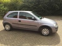 Vauxhall Corsa life Twinport,998...cc loe miles 43.000