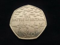 Batype of Britain 50 pence coin