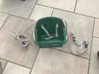 Bucket swing plastic safety adjustable