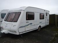 Compass Corona 556, Touring Caravan, 6 Berth