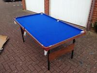 Snooker Table (6ft near perfect condition)