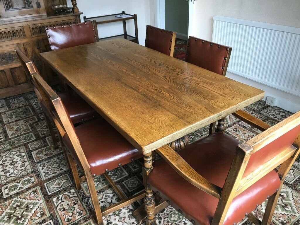 Vintage 1950s Dining Table Chairs In Goole East Yorkshire Gumtree