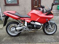 2002 BMW R1100S Marakesh Red