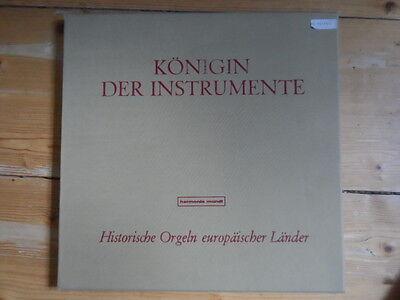 Michel Chapuis spielt Couperin-Königin der Instrumente-Harmonia Mundi-2er Lp Box