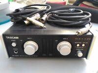 Tascam uh 7000 standalone ad/da converter/audio interface