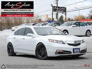2012 Acura TL ONLY 107K! **18 INCH BLACK EDT WHEELS** TECH PKG