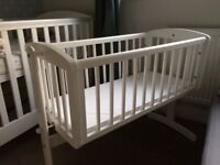Mothercare swinging cot great condition