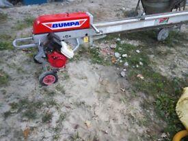BUMPA 8 meters petrol honda gx120 tile conveyor mace