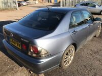2004 LEXUS IS200 2.0 SE 4 DR SALOON AUTOMATIC OUTSTANDING CONDITION LEATHER 12 MONTH'S M.O.T