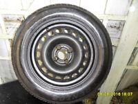1 x Vauxhall 195 x 60 x 15 steel wheel and Dunlop SP sport 200E tyre (Bath)