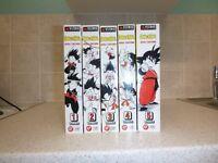 Dragon Ball Vizbig volumes 1-5