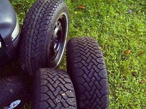 Nordic snow tires