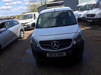 mercedes benz citan fridge van with standby.2013.one owner.full documented history