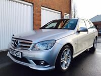 2010 Mercedes Benz C250 CDI Sport Estate 205bhp Twin Turbo Manual 145k Full Merc Hist nt 220 325 330