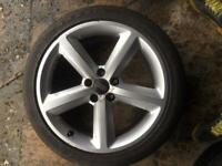 "Audi A5 sline 18""alloys with tyres"