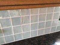 Brand new Johnson bros, hand finished stunning kitchen tiles.