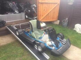 HONDA ENGINE PRO GOKART - HONDA GX120 - just £575 or swap for ?? - FULLY SERVICED - MANY NEW PARTS