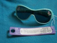 New M&S Young Girls Butterfly Sunglasses IP1