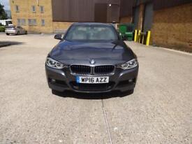 BMW 3 Series 330e M Sport[Pro Media] (grey) 2016