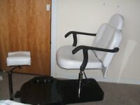 Pedicure Chair - Large Luxury Chair in new condition