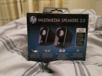 HP Multimedia Speakers. Laptop/ PC new