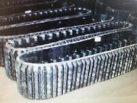 SPECIAL ON CAT RUBBER TRACKS 247, 257 ALSO FITS ASV RC50 , RC60