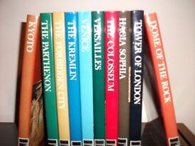 """Reader's Digest set of 10 books """"Wonders of Man"""" printed 1970-1973."""