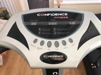 Confidence fitness plates exercise machine