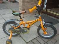Kids 14 inch Dinosaur bike.