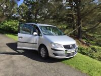 VW Volkswagen Touran 1.9 Tdi,Silver, 7 seater,MOT May 18 ,2 x new tyres, lovely car