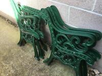 Cast Iron Garden Furniture Ends