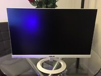 1080p White Asus Monitor IPS Panel 23 Inch