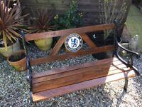 Chelsea rustic Victorian garden bench