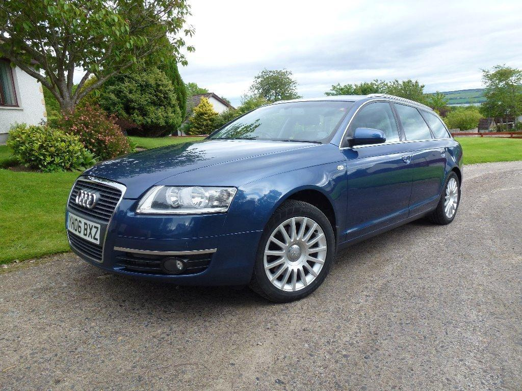 audi a6 avant 2 7 tdi se 2006 diesel metallic blue manual in dingwall highland gumtree. Black Bedroom Furniture Sets. Home Design Ideas