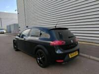Cheapest in UK! Seat Leon FR UPLIFT Black fully loaded FSH cambelt done BARGAIN