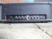 Valve amps
