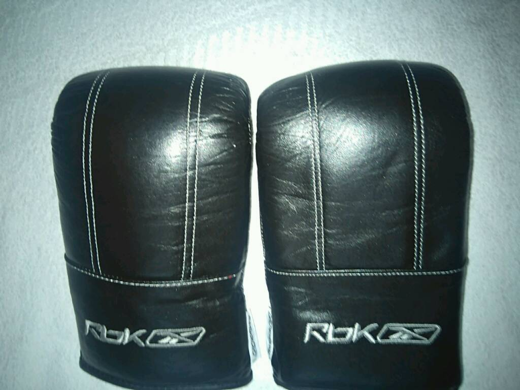 Reebok LEATHER BOXING GLOVES
