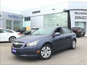 2014 Chevrolet Cruze 1LT One owner, accident free