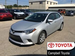 2015 Toyota Corolla LE HEATED CLOTH REAR CAMERA LOW KM'S
