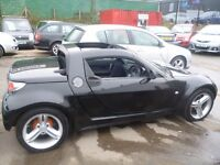 Smart ROADSTER Brabus Auto,(RHD),698 cc Convertible,Heated seats,Alloy wheels,No advisories