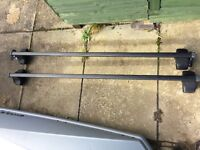 Thule roof bars and fitting kit for Fiat Multipla