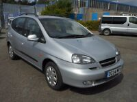 2004 (04 Reg) Daewoo Tacuma 1.6 SX 5dr MPV £595 SOLD WITH 12 MONTHS MOT & 3 MONTHS WARRANTY