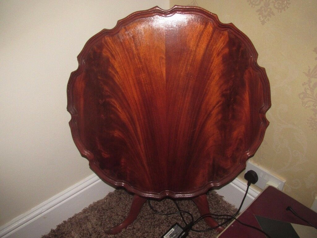 VINTAGE TILT TOP SIDE TABLE (COLLECTION ONLY BRIGHTON)