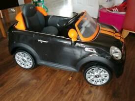 BMW mini kids ride on car