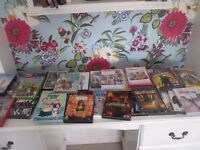 LARGE COLLECTION OF DVD'S & SOME BOX SETS BIG BANG FAMILY GUY AND SOME KIDS