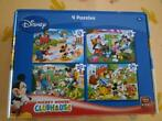 puzzels 4 van Mickey Mouse Clubhouse