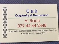Carpentry and Decoration