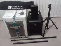 Lucas Nano 300 Portable PA system